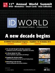 download the Fact Sheet PDF - ID WORLD International Congress