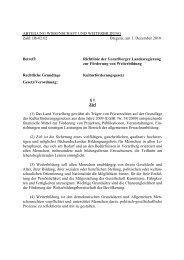 Richtlinie der Vorarlberger Landesregierung zur F