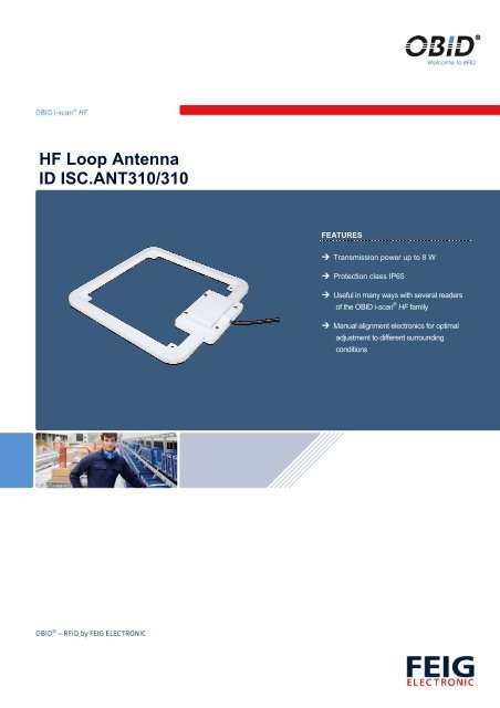 HF Loop Antenna ID ISC ANT310/310