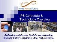 IPS Corporate & Technology Overview - John Lyons Marketing