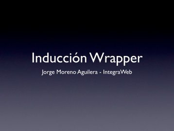 Jorge Moreno Aguilera - IntegraWeb