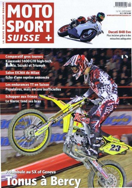 A lire dans Moto Sport Suisse (MSS) du 1er décembre 201 - Top News