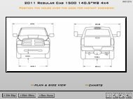 "2011 Regular Cab 1500 140.5""WB 4x4"