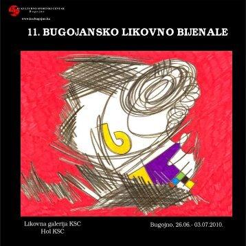 11. Bijenale - katalog - KSC Bugojno