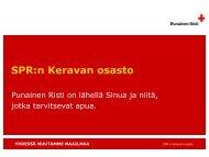 SPR:n Keravan osasto - RedNet - Punainen Risti