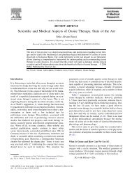 Scientific and Medical Aspects of Ozone Therapy. State ... - Ozonosan