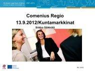 Kuntien alueellinen eu-yhteistyöohjelma ... - Kuntamarkkinat