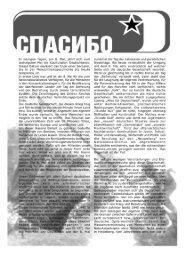 Flugblatt zum 60. Jahrestag der Befreiung vom Faschismus
