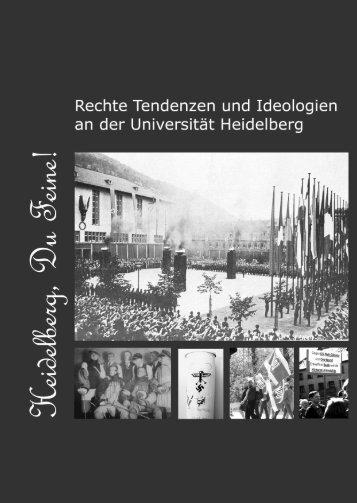 Broschüre - die antifa an der uni heidelberg