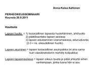 Perheoikeusseminaari 20.9.2011 - Socom