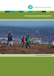 Vol.24 ORN Journal_Outdoor recreation in the 21st century