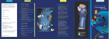 1. Münchner Gelenktag » Das Handgelenk 17.10.2009 PROGRAMM