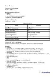 Seminar Radiologie Gastrointestinale ... - Rechtenwald.com