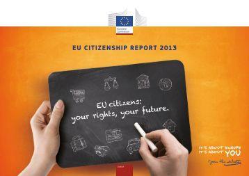 EU Citizenship Report 2013 - European Commission - Europa