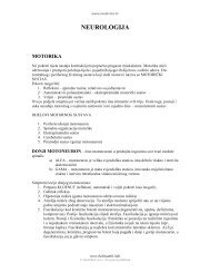 neurologija motorika - Beli Mantil
