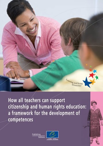 How all teachers can support citizenship and human rights education