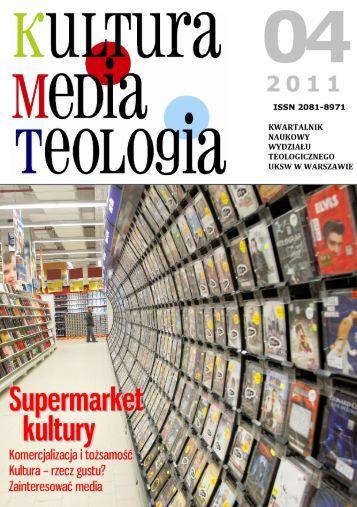 Pobierz numer w PDF - Kultura - Media - Teologia