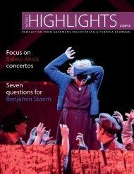 Seven questions for Benjamin Staern Focus on Kalevi Aho's concertos