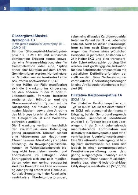 Hauptmann-Thannhauser- Muskeldystrophie