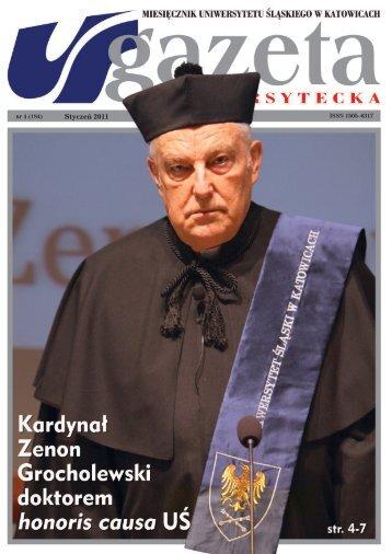 honoris causa - Gazeta Uniwersytecka - Uniwersytet Śląski