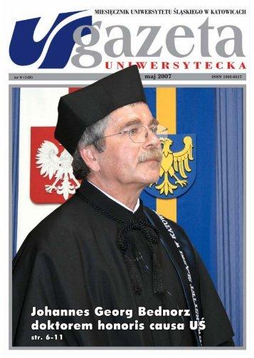 maj 2007 - Gazeta Uniwersytecka