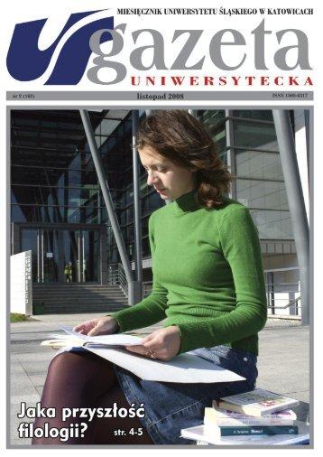 Da mihi animas - Gazeta Uniwersytecka - Uniwersytet Śląski