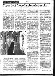 Czym jest filozofia chrzescijailska - katedra.uksw.edu.pl