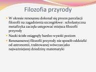 Filozofia przyrody - katedra.uksw.edu.pl