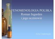 Uczniowie Ingardena - katedra.uksw.edu.pl