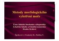 Metody morfologického vyšetření moče - Ústav klinické biochemie a ...