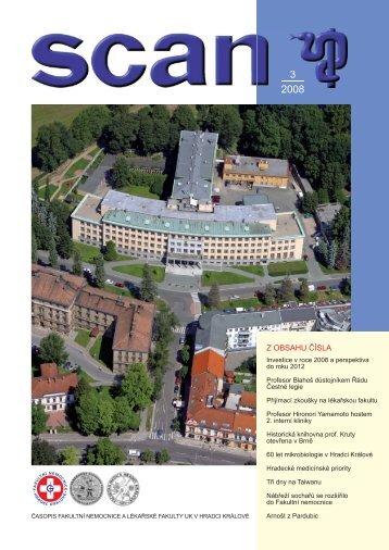 číslo 3 - Fakultní nemocnice Hradec Králové