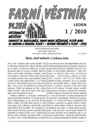 leden - Římskokatolická farnost u katedrály Plzeň
