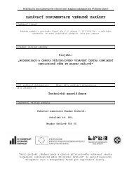 zadávací dokumentace veřejné zakázky - Fakultní nemocnice ...