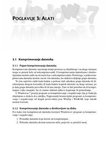 POGLAVLJE 3: ALATI - Mikro knjiga