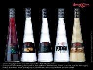 Predstavitev alkoholnega programa v 0,7 L steklenicah. - Dana