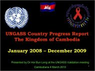 December 2009 - National AIDS Authority