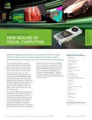 NEW REALMS OF VISUAL COMPUTING