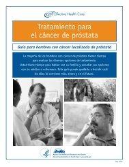 Tratamiento para el cáncer de próstata - AHRQ Effective Health ...