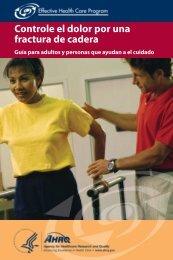 Controle el dolor por una fractura de cadera - AHRQ Effective Health ...