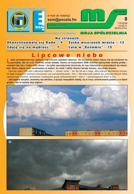 tutaj - Siemianowicka Spółdzielnia Mieszkaniowa