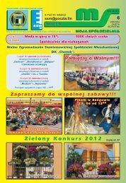 Zielony Konkurs 2012 - Siemianowicka Spółdzielnia Mieszkaniowa