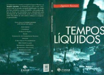 Tempos Líquidos - Zygmund Bauman