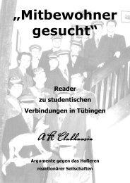 Reader vom AK Clubhausia Tübingen - Falsch verbunden