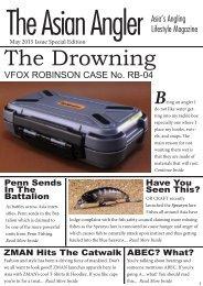 The Asian Angler - May 2015 Digital Issue - Malaysia - English