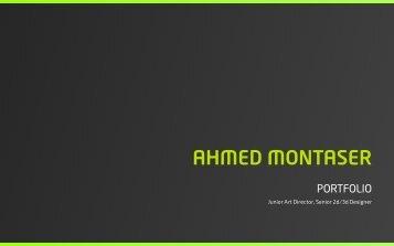 Ahmed Montaser Portfolio