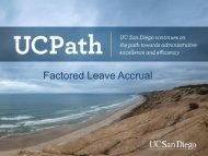Factored Leave Accrual