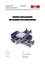 rapport projet de semstre2.05 - EPFL