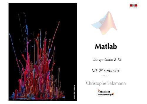 Matlab - EPFL