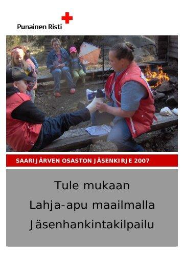 1.2007 - RedNet - Punainen Risti