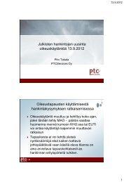 Julkisten hankintojen uusinta oikeuskäytäntöä - Kuntamarkkinat